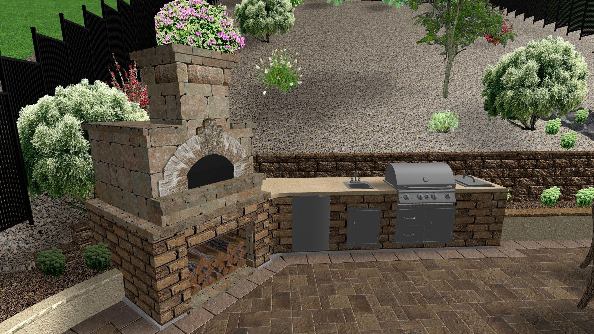 Outdoor Barbeque Designs