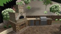 Outdoor Barbeque Designs