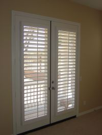 Window Treatment Ideas for Doors - 3 Blind Mice | Window ...