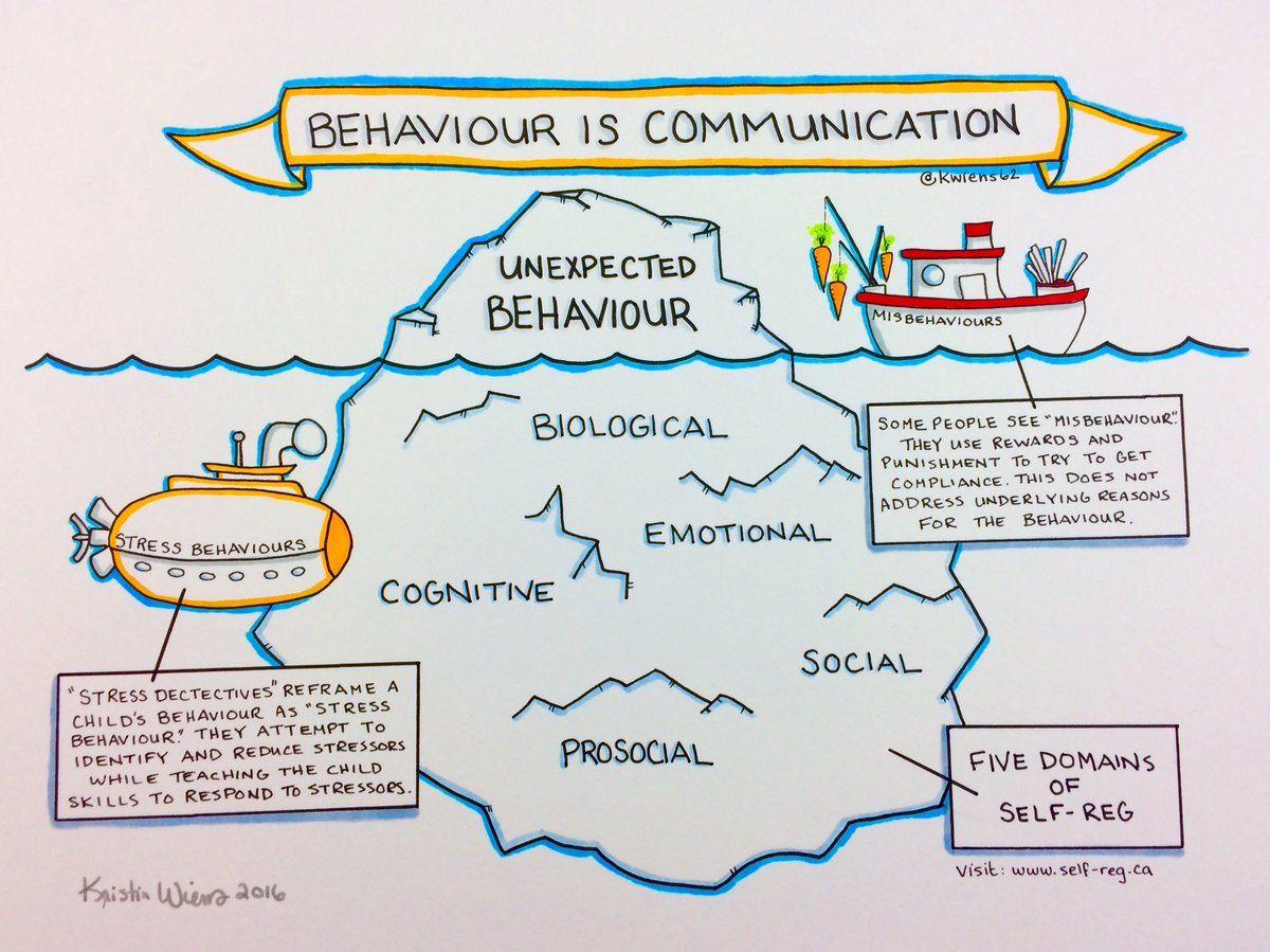 Behaviour Is Communication Iceberg