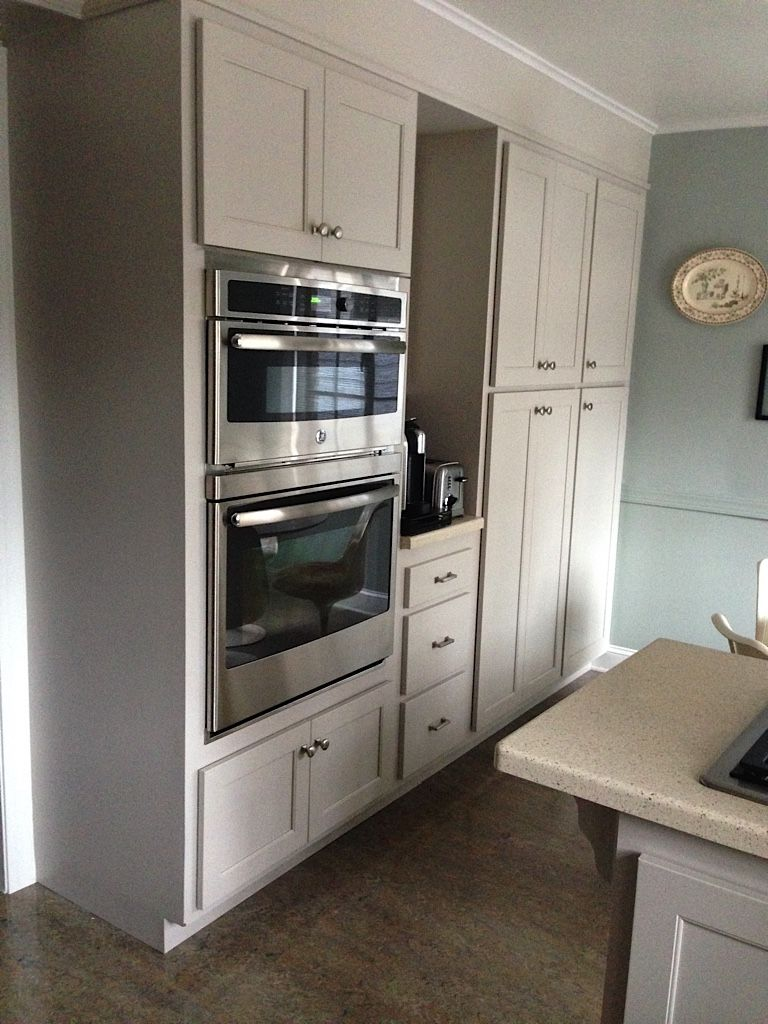 kitchen reface depot menards islands martha stewart sharkey gray cabinets-through home ...