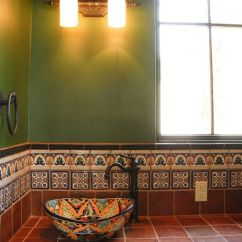 Mexican Backsplash Tiles Kitchen Affordable Kitchens And Baths Southwestern Style Decorating Ideas | ...