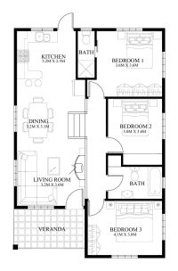 Small House Design - 2014005 | Pinoy ePlans - Modern house ...