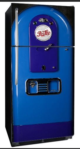 Vending Retro Pepsi Fridge
