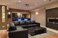 21 Stunning Modern Basement Designs | Modern basement ...