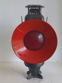 "Vintage Railroad Switch Lamp ""Adlake Non Sweating Lamp ..."