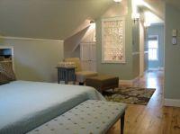 Our attic bedroom, 1940 cape cod attic turned master ...