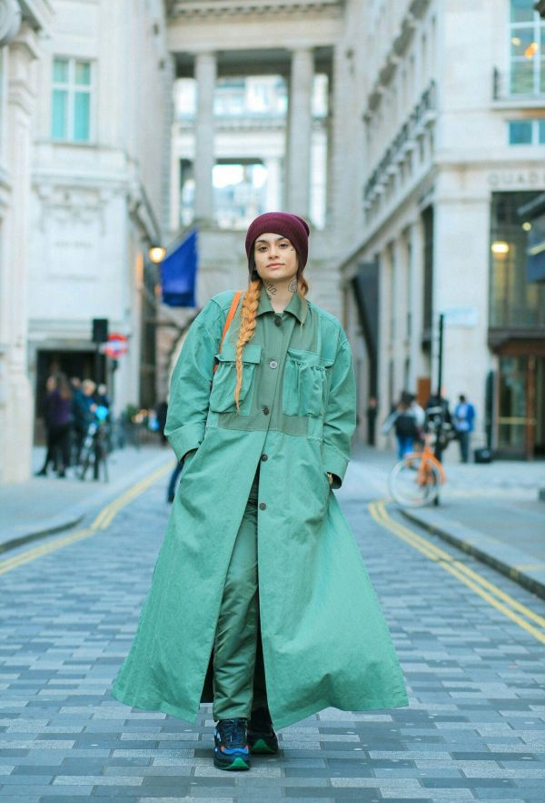 Kehlani Outfits David Camarena In London - March 2017