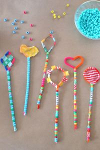 Pipe Cleaner Wands at the Craft Fair | Wand, Pipes and ...