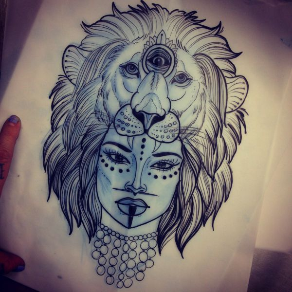 9ee553f0d 20+ Lion Lady Tattoo Pictures and Ideas on Meta Networks