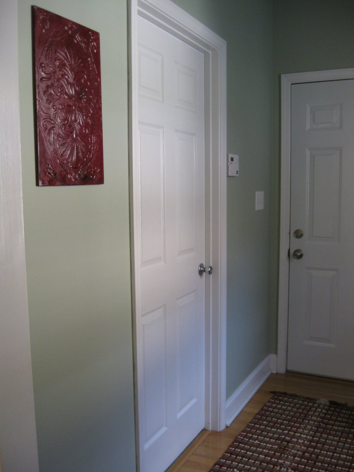 Love this shade of green Benjamin Moore Grecian Green