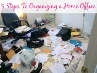 5 Steps To Organizing a Home Office - Organize 365 ...