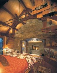 Cabin Decor Ideas | Cabin, Ceilings and Logs