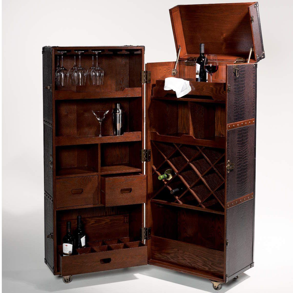 Hemingway Koffer Bar Mit Separatem Tablett