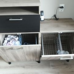 Small Kitchen Solutions Ikea Renovation Cost Maybe We 39ll Put The Laundry In Basket Besta Tilt Out