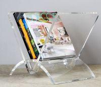 Interlude Home Versa Acrylic Magazine Rack | Family Room ...