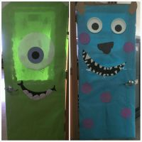 Monsters Inc... classroom doors | Door decorating ...