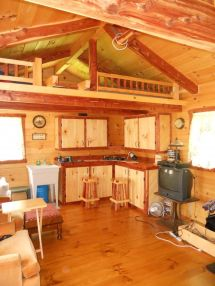 16x24 Log Cabin Interior Design - Year of Clean Water