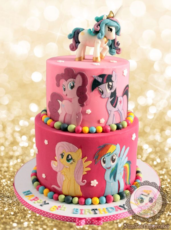 Little Pony Cake Yumzee Cuppycakes