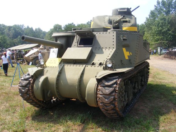 WWII US Army M3 Lee Tank Militaria Trains Space