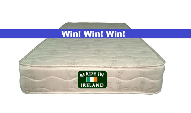 Win An Irish Made Orthopaedic Mattress Http Mattressesfor Co