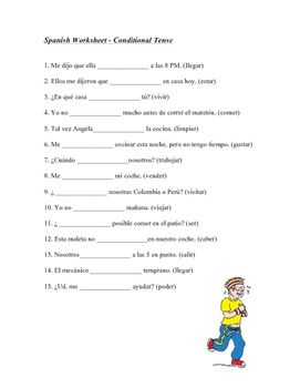 This+1-page+worksheet+focuses+on+the+Spanish+conditional