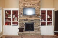 Fireplace With Built In Bookshelves | Fireplace and ...