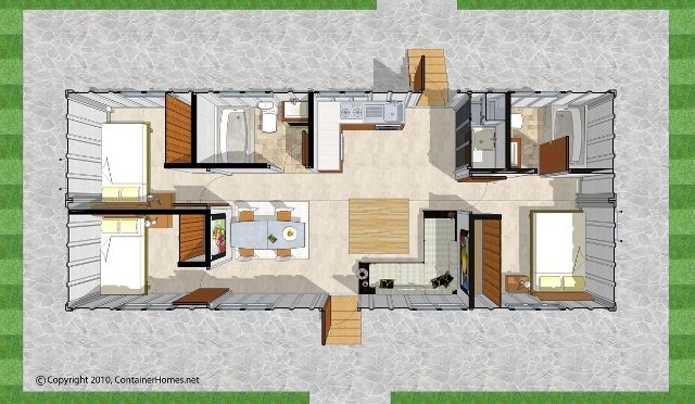 Container Homes Design Designs And Blueprints Available FOR SALE