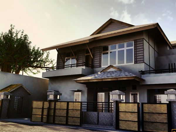 Chocolate Brown Exterior House Color  Gray And Brown  exterior paint colors for brown roof