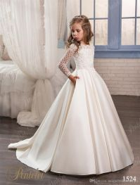 Wedding Dresses for Little Girls 2017 Pentelei Cheap with ...