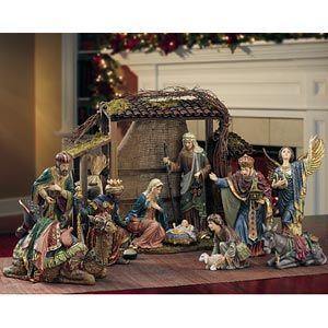 Costco Kirkland Signature Nativity Set 15 Pieces