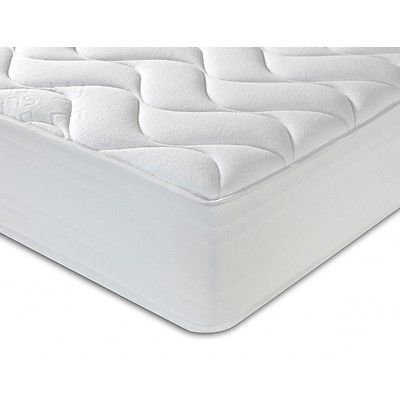 New Sprung Mattress 3ft 4ft 6 5ft Memory Foam Topped Double King