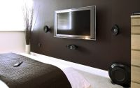Bedroom: Flat Screen TV Wall Mounts With Best Home Theater ...