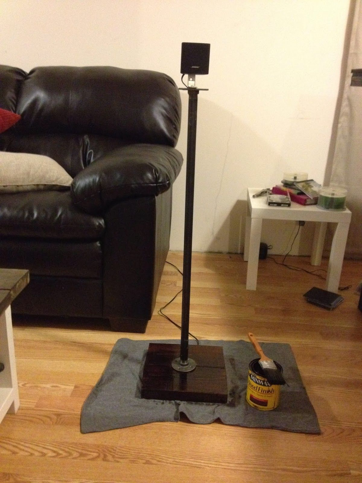DIY Speaker Stands Upcycling Creations Turning Trash