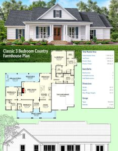 Introducing architectural designs house plan hz classic bedroom country farmhouse it also bed diseno  rh ar pinterest