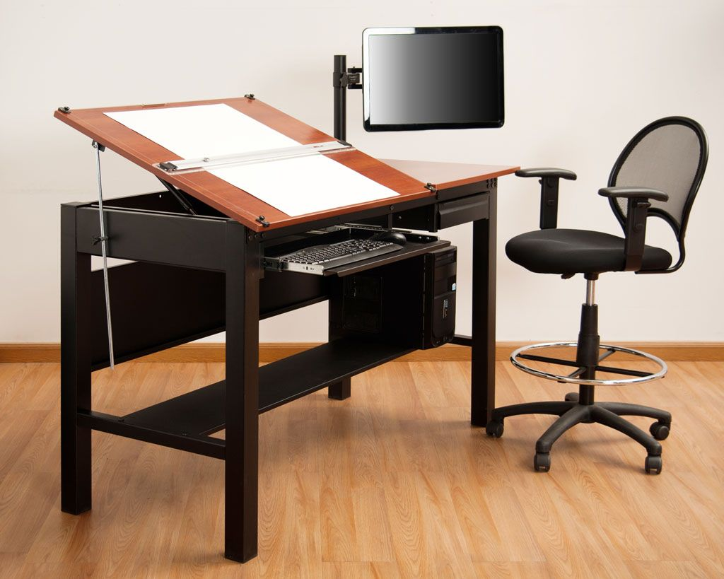 Freedom Drafting Table 72 Wide The ideal threeinone