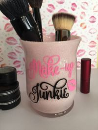 Makeup Brush Holder, Makeup Brush Cup, Bathroom Vanity ...