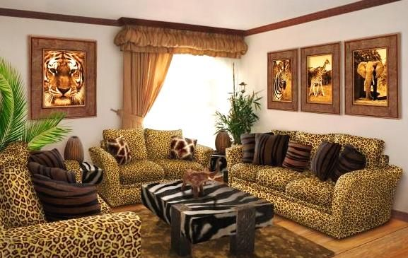 African Home Decor Tiger