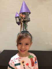crazy hair day. rapunzel tower