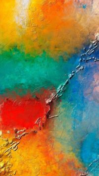 Textures iPhone 6 Plus Wallpapers - Colorful Wall Paint ...