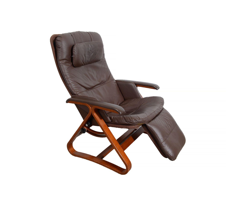 modern recliner chair vanity pottery barn leather lounge backsaver zero gravity danish
