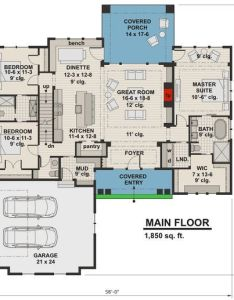 Sq ft plan rk highly detailed craftsman home with bonus suite over also rh pinterest