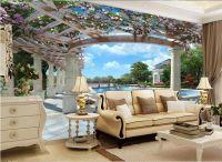 3D Wallpaper Bedroom Living Mural Roll Swimming Pool ...