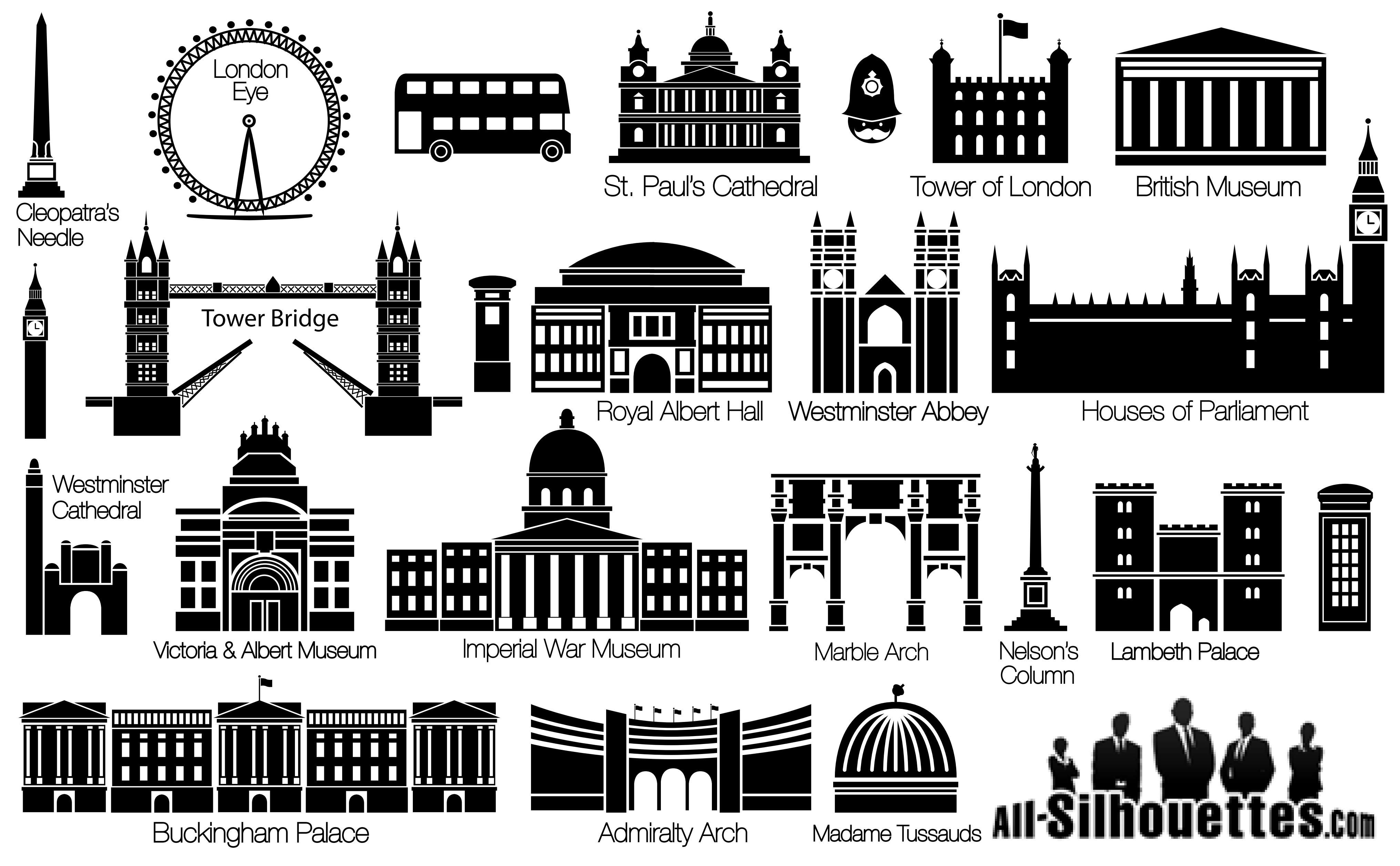 London Silhouettes