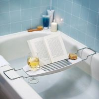 Bathtub Caddy With Reading Rack