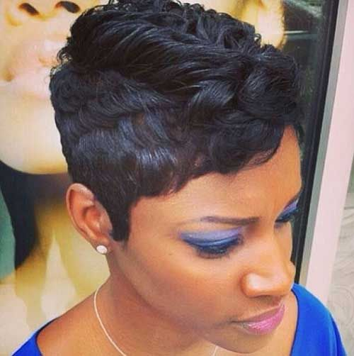 20 Short Pixie Haircuts For Black Women Short Haircut