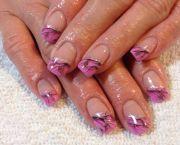 realtree camo nails pink