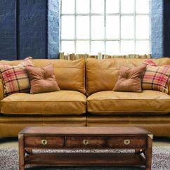 Alec Leather Sofa Collection Brown Living Room Design Alexander Grampian Furnishers Hudson 4 Seater