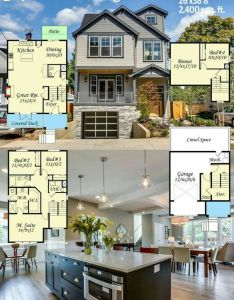 Architectural designs house plan at only is perfect for your narrow up slope lot over square feet of living on three levels plus  drive under garage also ms an uphill skinny floor bonus rooms rh pinterest
