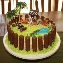 Zoo Birthday Cake Ideas